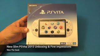 New Slim PSVita 2015 Unboxing & First Impressions
