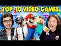Generations React To Top 10 Video Games ...