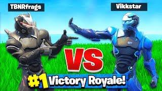 TBNRFRAGS vs VIKKSTAR123 in Fortnite Battle Royale