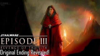 Original Ending for Revenge Of The Sith Revealed