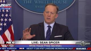 WOW: Sean Spicer GOES OFF On Reporter Over Russia Reporting On President Trump - FNN