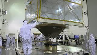 Mars InSight Arrives at Vandenberg Air Force Base