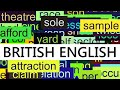 3000+ Common English Words with British ...mp3