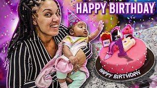 NOVA'S 1 MONTH BIRTHDAY PARTY 💕