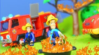 FEUERWEHRMANN SAM neue Folgen: Beste FEUER Rettungsaktion für KINDER   Fireman Sam Episode deutsch