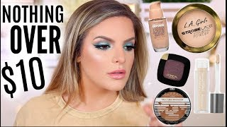 NOTHING OVER $10.00 MAKEUP TUTORIAL | Casey Holmes
