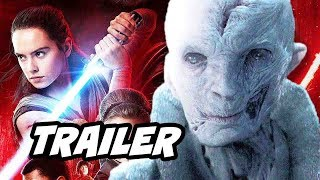 Star Wars The Last Jedi Trailer - Rey and Snoke Theory