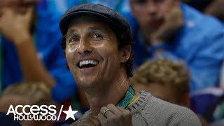Matthew McConaughey Describes His Experience At The Rio Olympics! | Access Hollywood