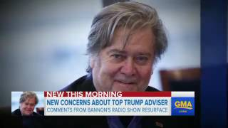 Steve Bannon Past is catching up Comments on Islam, Muslim