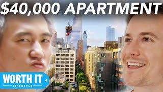 $1,700 Apartment Vs. $40,000 Apartment