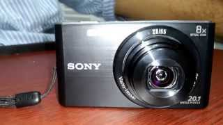 Sony CyberShot DSCW830 20.1 MP Digital Camera Unboxing & Review!