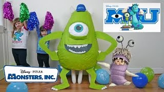 Disney Monsters Inc Super Giant Egg Surprise Biggest Egg opening Fun Kids Videos ToyCollectorDisney