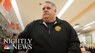 Boston Firefighters Help Families In Need Celebrate Thanksgiving | NBC Nightly News