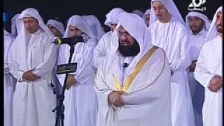 Shaykh Sudais in Dubai 18th March 2010 Leading Salaah