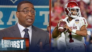 Cris Carter encourages Kyler Murray to pursue a NFL career over baseball   CFB   FIRST THINGS FIRST