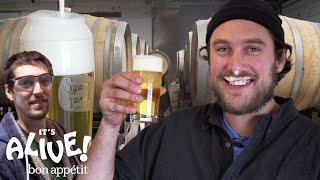 Brad Makes Beer | It's Alive | Bon Appétit