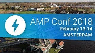 Watch the AMP Conf 2018 Livestream!