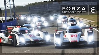 Forza 6 - 24 Person Races! (Fan Lobby, Ford GTs, Audi R18s)