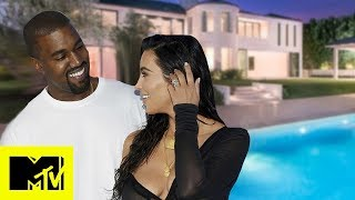 Kim Kardashian Gives A Tour Of Her & Kanye West's Unique House | MTV Celeb