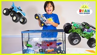 Ryan Truck Car Wash with learning colors and number counting