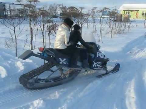 Снегоход своими руками из мопеда