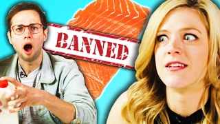 Americans Try Banned Foods From Other Countries
