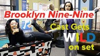 Brooklyn Nine-Nine cast gives us the wildest set tour yet