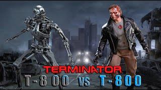 TERMINATOR - T800 vs T800 (stop motion)