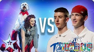 QUARTER FINALS: Ashleigh & Pudsey vs Twist & Pulse   Britain