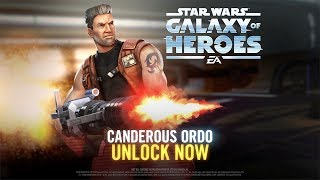 Star Wars: Galaxy of Heroes - Canderous Ordo Has Arrived