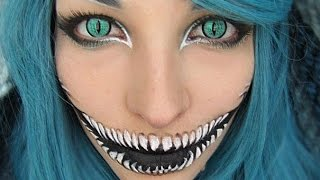25 Creepiest Halloween Makeup Ideas