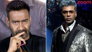 Ajay Devgn Avoids Talking About Karan Johar | Bollywood News