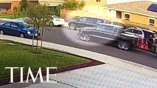 Arrest Footage Of Couple Accused In California