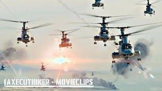 World Invasion Battle: LA  2011  All Alien Attack Scenes [Edited]