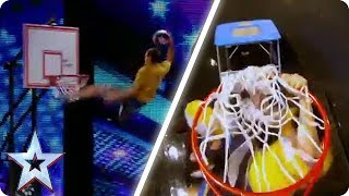 Face Team SLAM DUNK the competition | Britain