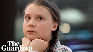 Greta Thunberg tells MPs: 'Our future was sold'