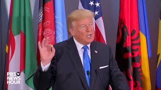 President Trump delivers toast at United Nations luncheon