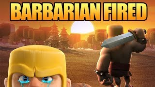 Clash of Clans Mini Story | Barbarian Builder Fired! - Apology Letter | Giant Surprise Update CoC