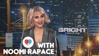 At the Movies x Bright: Noomi Rapace