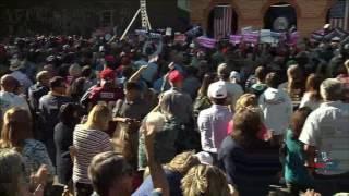 HUGE Crowd to see Donald Trump in Virginia Beach, VA 10/22/16