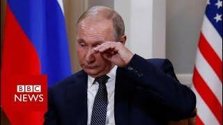 Putin arrives at summit venue - BBC News