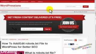 Add robots.txt file to WordPress via SEO by Yoast & FileZilla FTP
