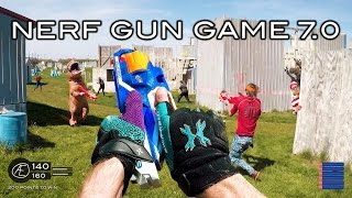 Nerf meets Call of Duty: Gun Game 7.0   First Person in 4K!
