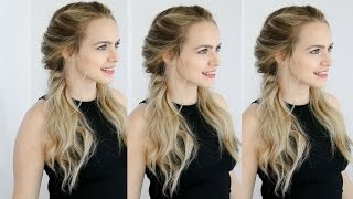 Easy Twisted Pigtails Hair Style Inspired by Margot Robbie