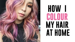 How I Colour My Hair At Home - Collab with L