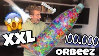 100.000 XXL Glibberkugeln in XXL - Flasche 😱 | Julienco