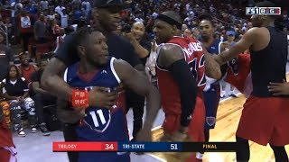Nate Robinson Wanna Fight Everybody&Kills The Game Winner In BIG3 Debute!(Heated Ending)