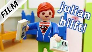 Playmobil Film Deutsch - JULIANS 6 GRÜNDE MEHR TASCHENGELD ZU BEKOMMEN! JULIAN HILFT! Familie Vogel
