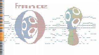 What France Sounds Like - MIDI Art