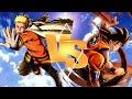 Hokage Naruto VS Goku  (Sprite Animation...mp3